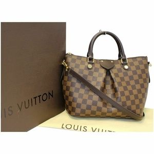 Louis Vuitton Bags - LOUIS VUITTON Siena PM Damier Ebene Shoulder Bag